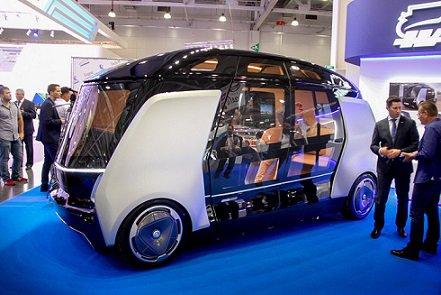 КамАЗ готовит квыпуску беспилотные автобусы, управляемые со телефона