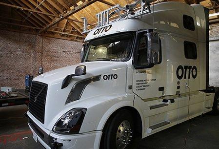 Беспилотный грузовой автомобиль совершил 1-ый коммерческий рейс