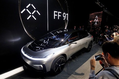 Faraday Future привезла на CES 2017 конкурента Tesla