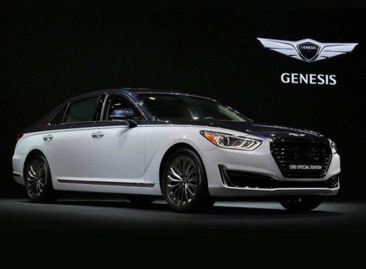 Новая версия флагманского седана Genesis G90 была представлена в Сеуле