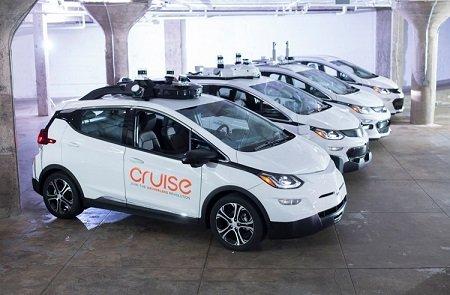 General Motors будет тестировать свои робомобили на улицах Нью-Йорка
