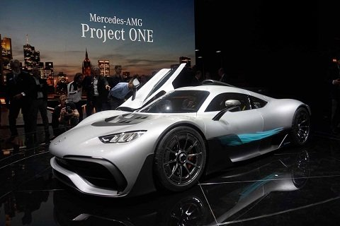 Mercedes-AMG Project One уже доступен для приобретения