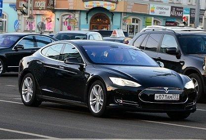В Российской Федерации стали покупать больше авто Tesla