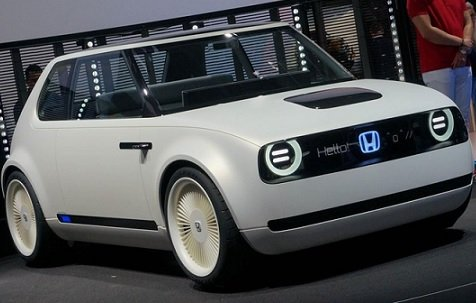 Продажи ретроэлектрокара Honda Urban EV начнутся в следующем году
