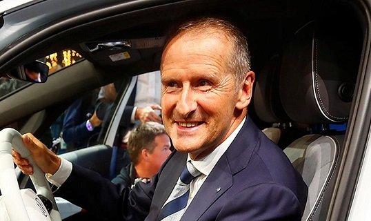 Глава «VW» поделился мыслью о конкурентах в автобизнесе