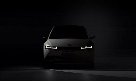 «Ioniq 5»: бренд «Hyundai» выдал первое официальное изображение