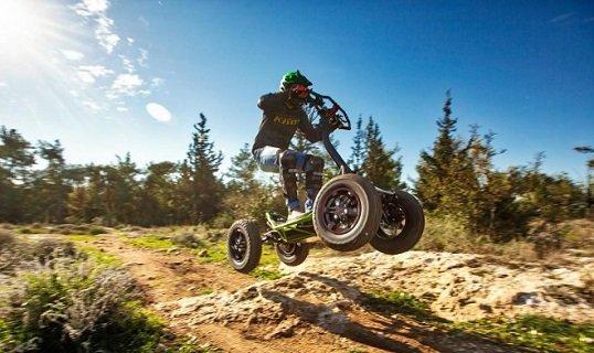 В Израиле создан «гибрид квадроцикла и скутера»