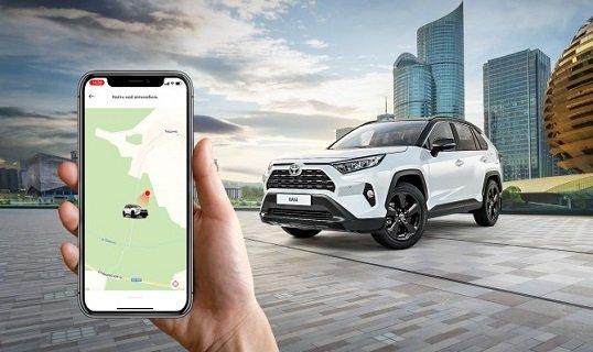 Автомобили бренда «Toyota» в РФ подключены к телематической экосистеме