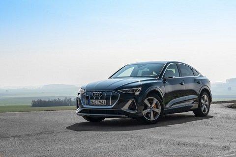 Модель «Audi e-tron Sportback» стала доступна для заказа в РФ