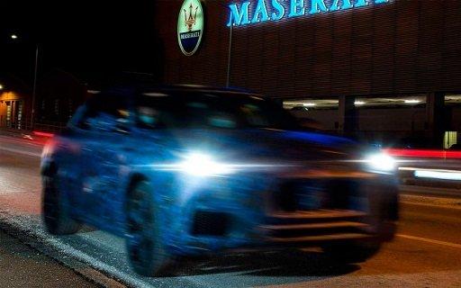 «Maserati» выдала изображения «Grecale»
