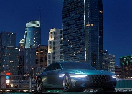 Марка «Genesis» презентовала концептуальный спортивный электромобиль