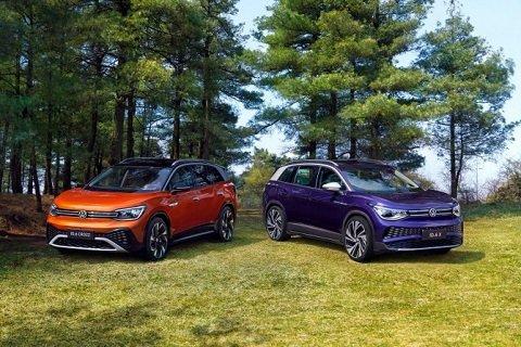 «Volkswagen» презентовала большую модель «ID.6»