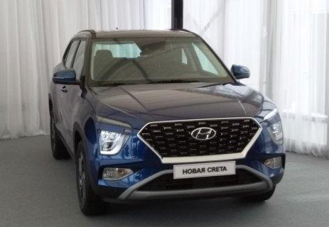 В РФ ожидают старт продаж новой генерации «Hyundai Creta»