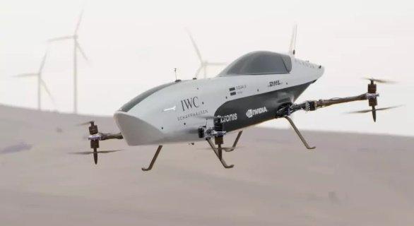 В Австралии испытан летающий электромобиль для «Formula 1» будущего
