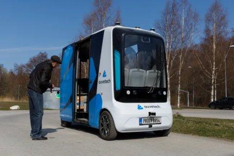 В Тарту протестируют первый в мире  «беспилотник» на водородном топливе