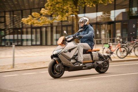 «BMW» презентовала серийный «Motorrad CE 04»