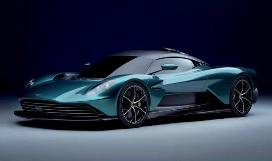 «Aston Martin» презентовала будущий серийный гибридный суперкар