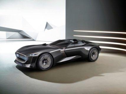 «Audi» показала концепт электрического родстера