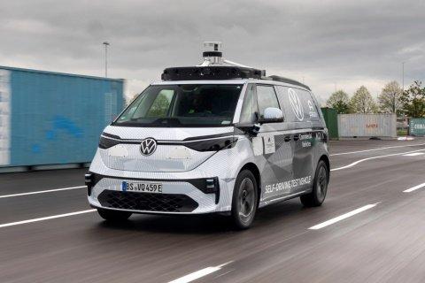 VW» и «Argo AI» тестируют беспилотный микроавтобус