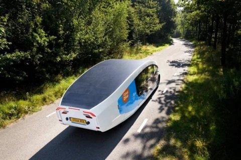 В Нидерландах разработан «дом на колесах», функционирующий на солнечной энергии